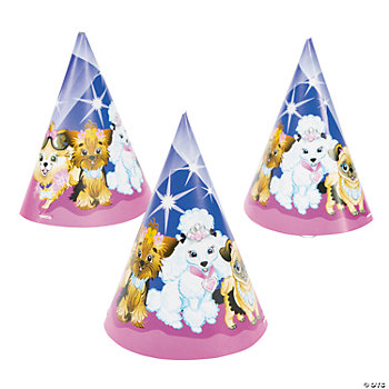 Fashion Puppies Cone Hats