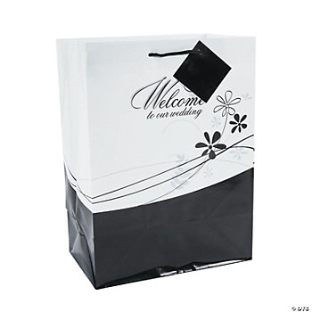 "Medium ""Welcome To Our Wedding"" Gift Bags"