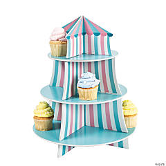 1st Birthday Circus Cupcake Holder