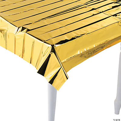 Metallic Gold Tablecloth