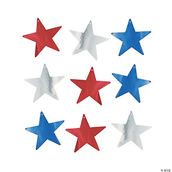 Patriotic Star Decorations