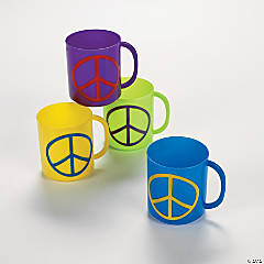 Peace Sign Mugs