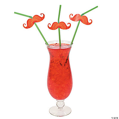 Irish Mustache Straws