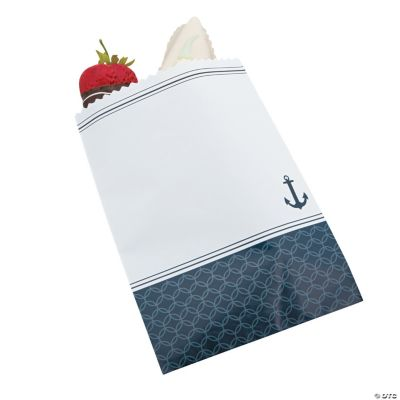 Nautical Wedding Cake Bags
