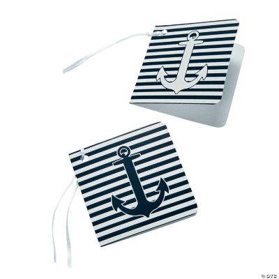 Nautical Wedding Gift Tags : Nautical Wedding Favor Tags - Oriental Trading