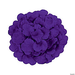 Polyester Purple Rose Petals