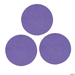 Purple Jumbo Dot Confetti