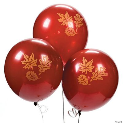Fall Print Latex Balloons