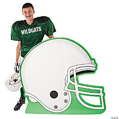 Football Helmet Stand-Up