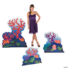 Coral & Seaweed Stand-Up Set