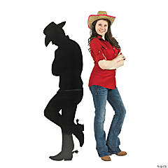 Cowboy Silhouette Stand-Up