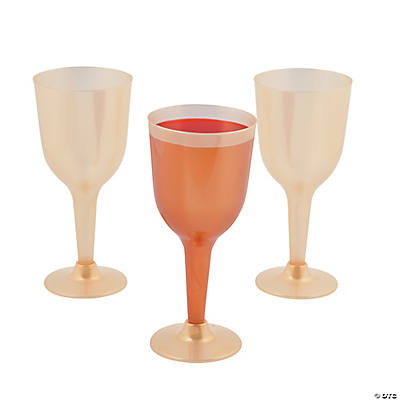 Gold Wine Glasses Oriental Trading Discontinued