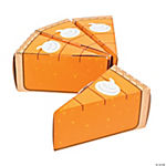 Pumpkin Pie Favor Boxes