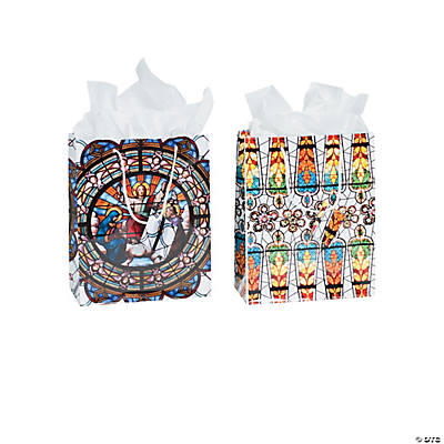 Medium Cathedral Windows Gift Bags