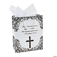 Medium Religious Wedding Gift Bags