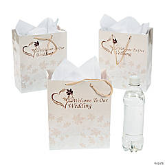 Medium Fall Wedding Gift Bags