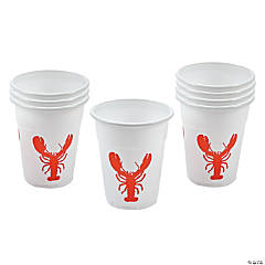 Crawfish Disposable Cups