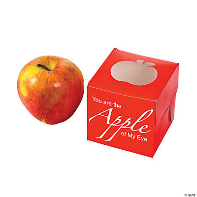 """Apple of My Eye"" Favor Boxes"