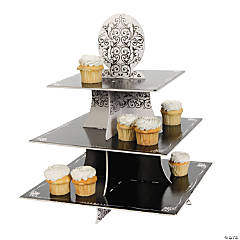 Black & White Cupcake Holder