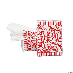 Red Wedding Facial Tissue Packs