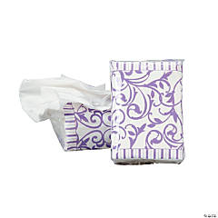 Lilac Wedding Facial Tissue Packs