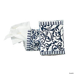 Navy Blue Wedding Facial Tissue Packs