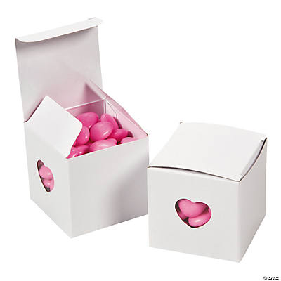 White Heart Gift Boxes