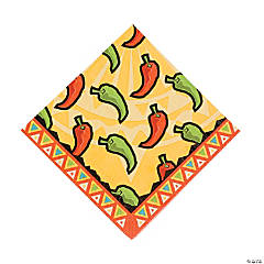 Southwest Chilies Luncheon Napkins