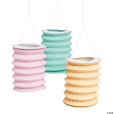 Vintage Collection Paper Lantern Garland