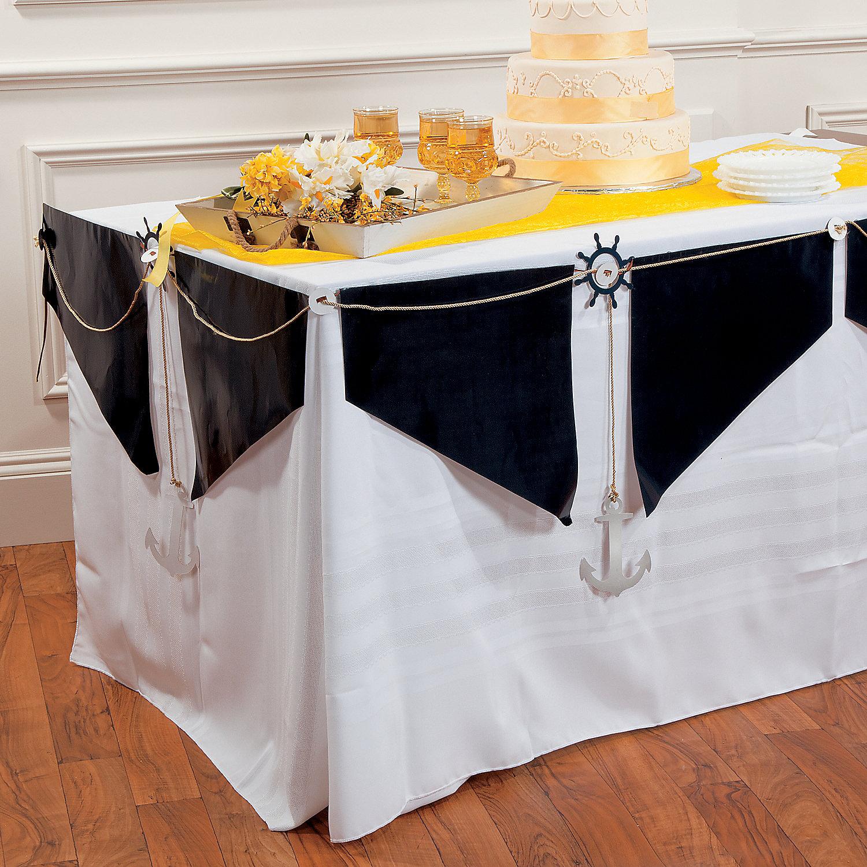 Nautical Wedding Decoration Ideas: Nautical Wedding Table Garland