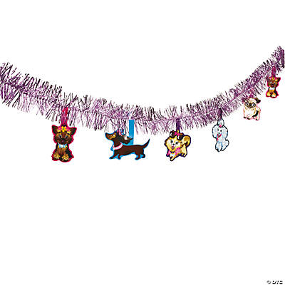Fashion Puppy Tinsel Garland