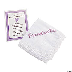 """Grandmother"" Handkerchief"