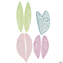 Glittered Fairy Wing Cutouts