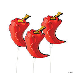 Chili Pepper Mylar Balloons
