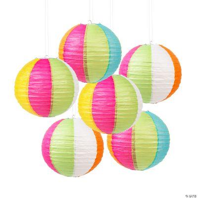 Beach Ball Lanterns