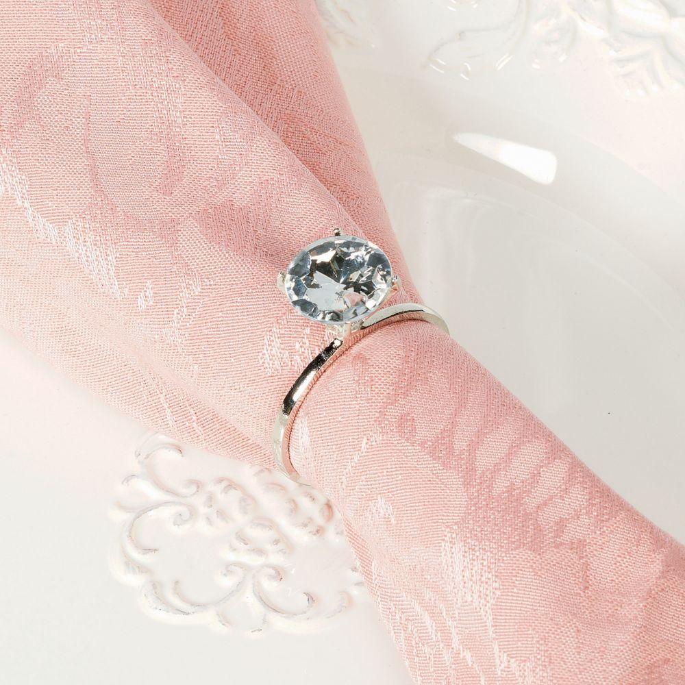 Diamond Ring Napkin Rings - Napkins & Napkin Rings