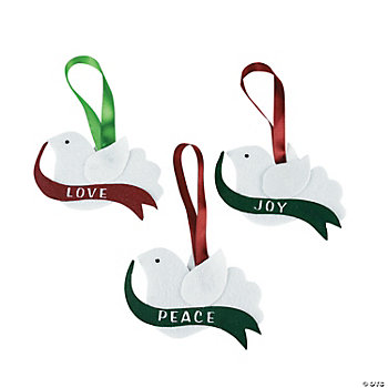 Dove Ornament Craft Kit