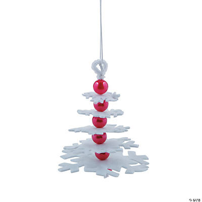 Layered Snowflake Christmas Ornament Craft Kit