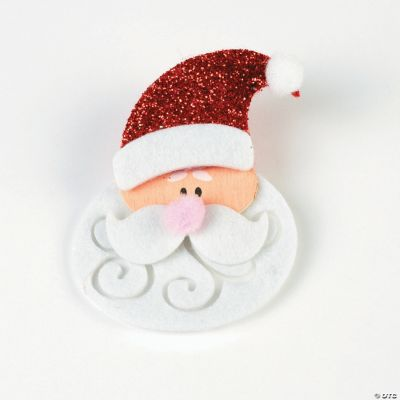 Santa Pin Craft Kit