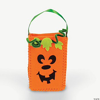 Pumpkin Bags Craft Kit