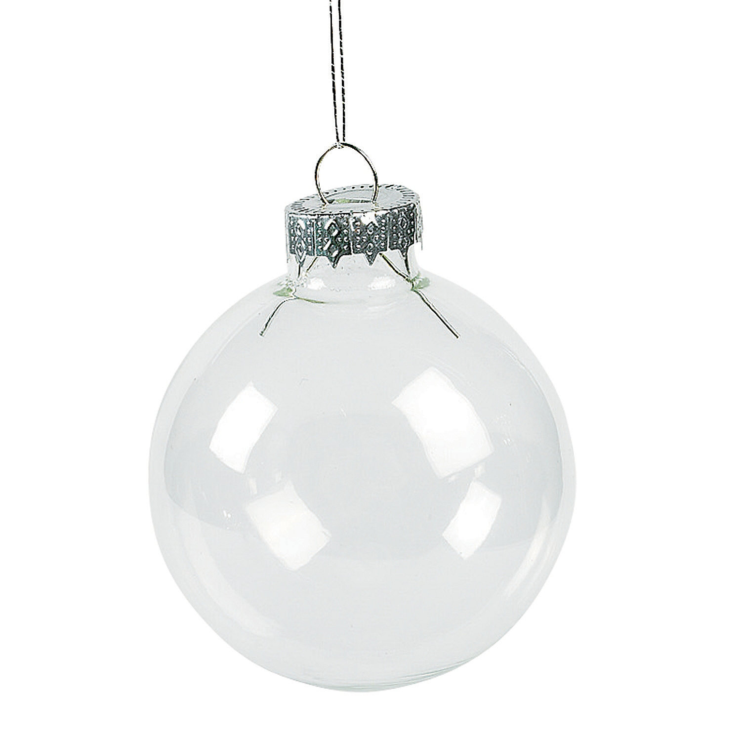 Diy clear round christmas ornaments in 41 1348 diy clear round
