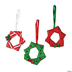 Ribbon Wreath Ornament Craft Kit