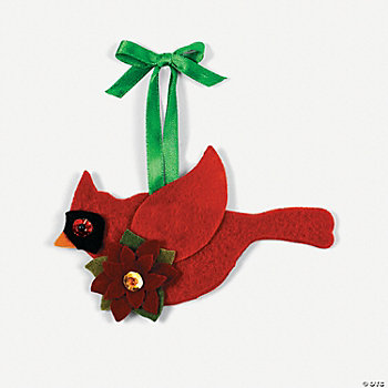 Red Bird Ornament Craft Kit
