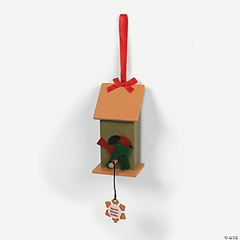 Small Birdhouse Ornament Craft Kit