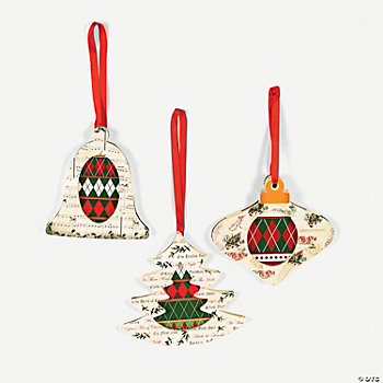 Christmas Carol Ornament Craft Kit