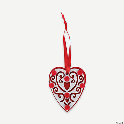 Layered Heart Ornament Craft Kit
