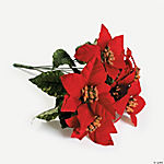 Red Poinsettia Bushes