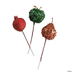 Glitter Fruit Picks