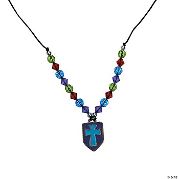 Religious Shield Necklace Craft Kit