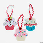 Cupcake Ornament Craft Kit